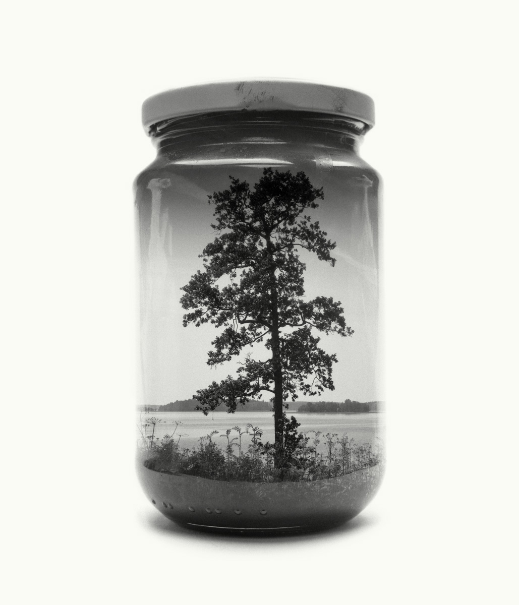 Christoffer Relander has been working on a new series of analog multiple exposures.