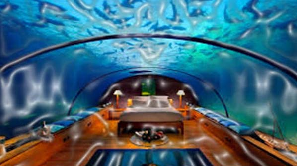 Have you ever thought about living in the sea? Well, you can do this and a lot more in the Poseidon Undersea Resort in Fiji. The suites are constructed in such a manner that offers deep sea enthusiasts, limitless panoramas of the underwater sea.