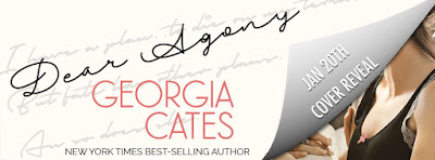 Cover Reveal & Giveaway:  Dear Agony – Georgia Cates