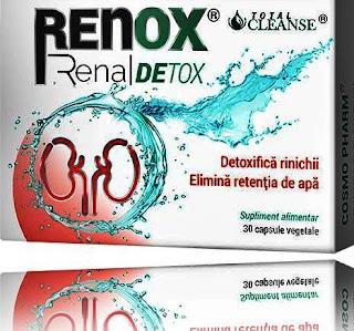 RENOX Renal Detox opinii comentarii forum retentia de apa