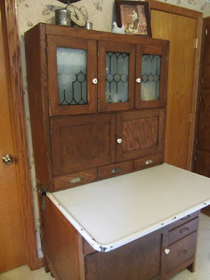 Country Blessings: Hoosier Cabinet