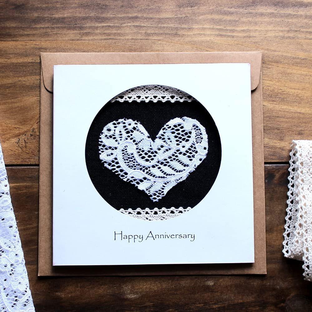 handmade lace card