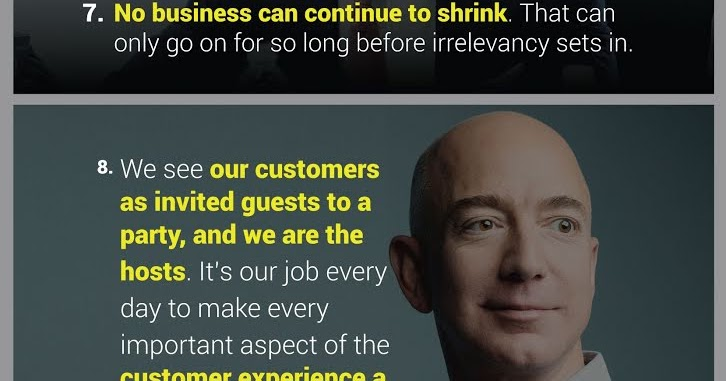 10 Business Quotes From Jeff Bezos Infographic