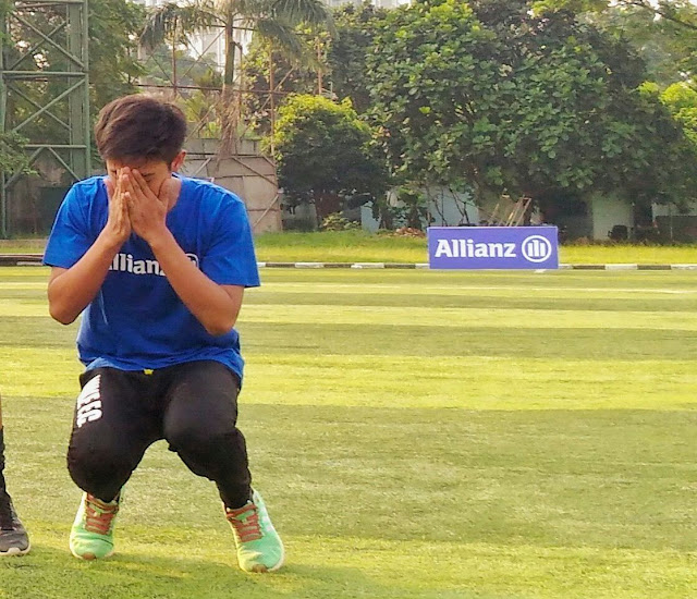 pemain terpilih allianz junior football camp