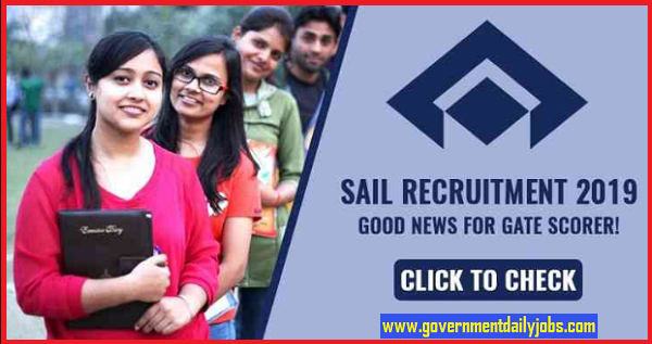 SAIL Recruitment 2019: Apply for 142 Management Trainee posts