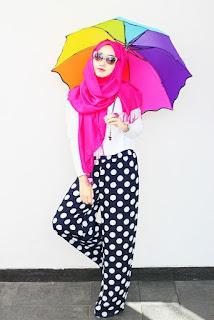 Contoh Baju Hijab Dian Pelangi