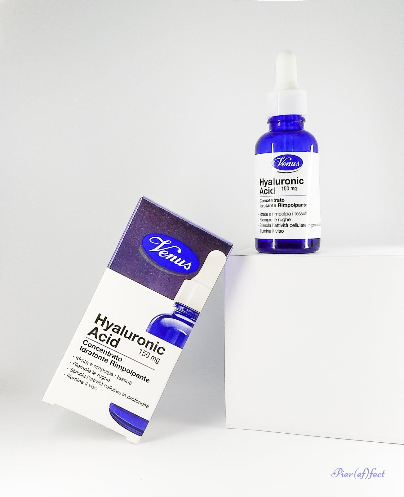 Venus Hyaluronic Acid Concentrato Idratante Rimpolpante