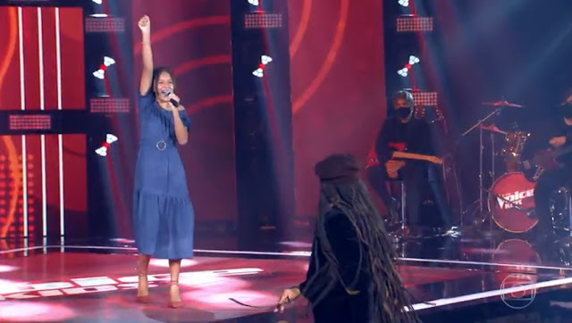 Teresinense impressiona e conquista todos os jurados do The Voice Kids