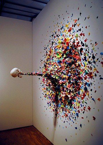 Puking rainbows art Characteristics of modern artwork