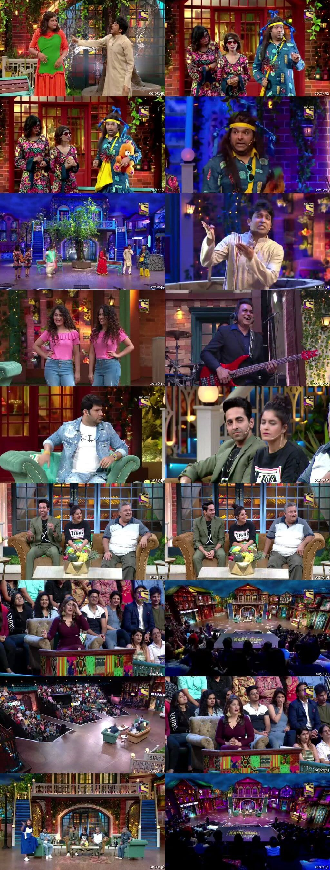 Screen Shot Of The Kapil Sharma Show 29th June 2019 Season 02 Episode 52 300MB Watch Online