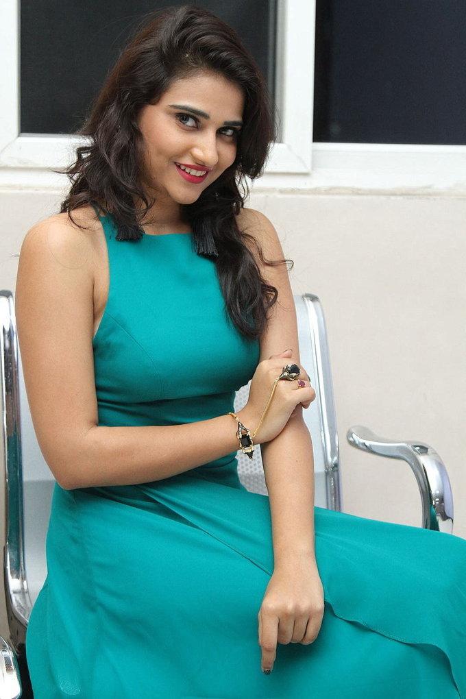 Telugu Actress Priya Singh In Blue Gown Stills