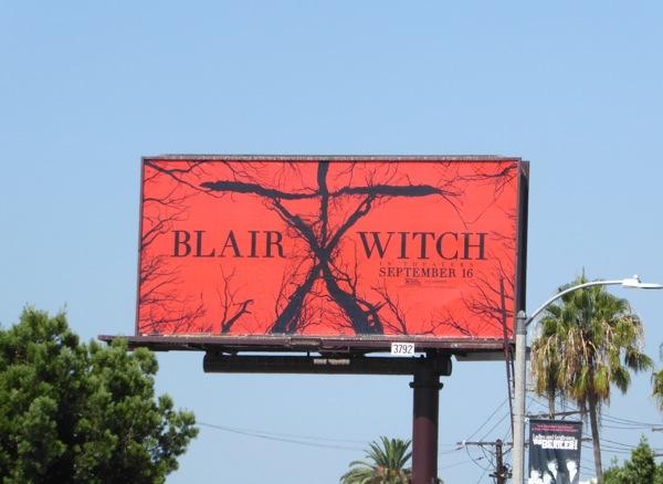 Blair Witch movie billboard