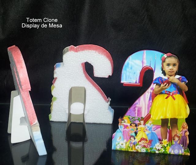 Display de Mesa As Princesas  Disney dicas e ideias para decoração de festa personalizados
