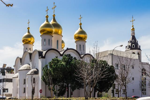 iglesia ortodoxa rusa en Madrid