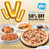 Vivo Pizza 9月份有50%折扣优惠!只限 3 天而已!