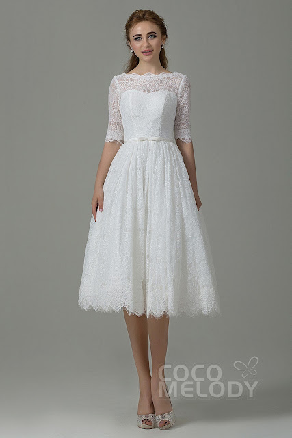 http://www.cocomelody.com/fantastic-a-line-illusion-natural-tea-length-lace-ivory-half-sleeve-zipper-with-button-wedding-dress-with-ribbons-jwxk15002.html#product_tabs_cms2