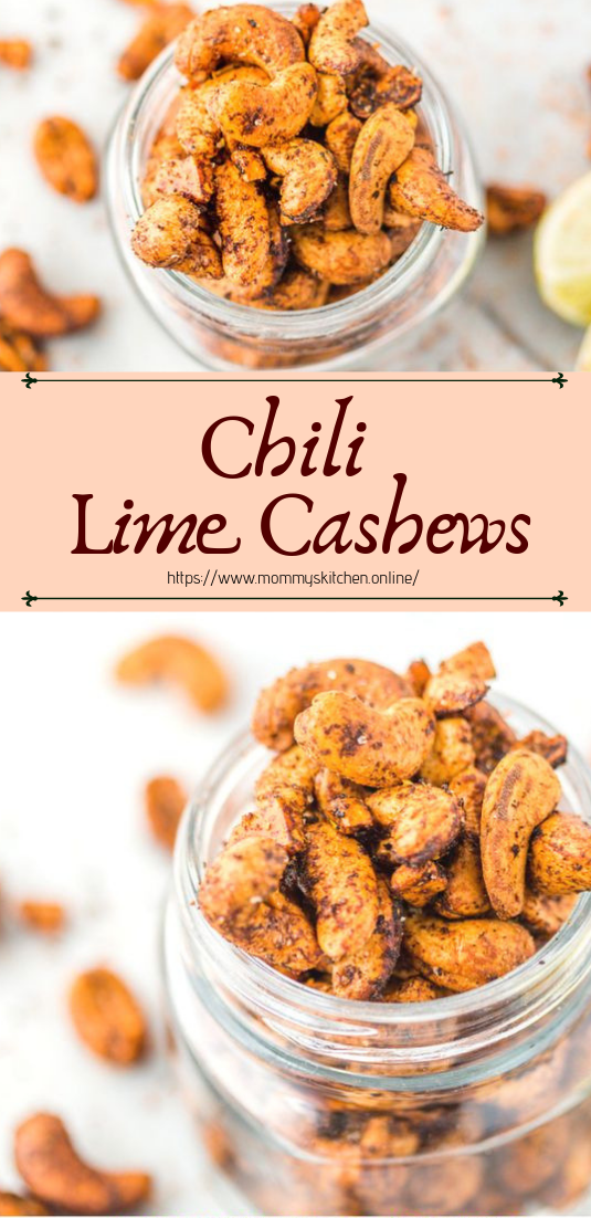 Chili Lime Cashews #healthyfood #dietketo