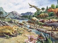 Pengertian dan Ciri Zaman Mesozoikum