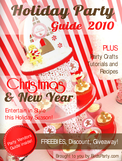 Bird's Party Magazine Holiday Issue 2010