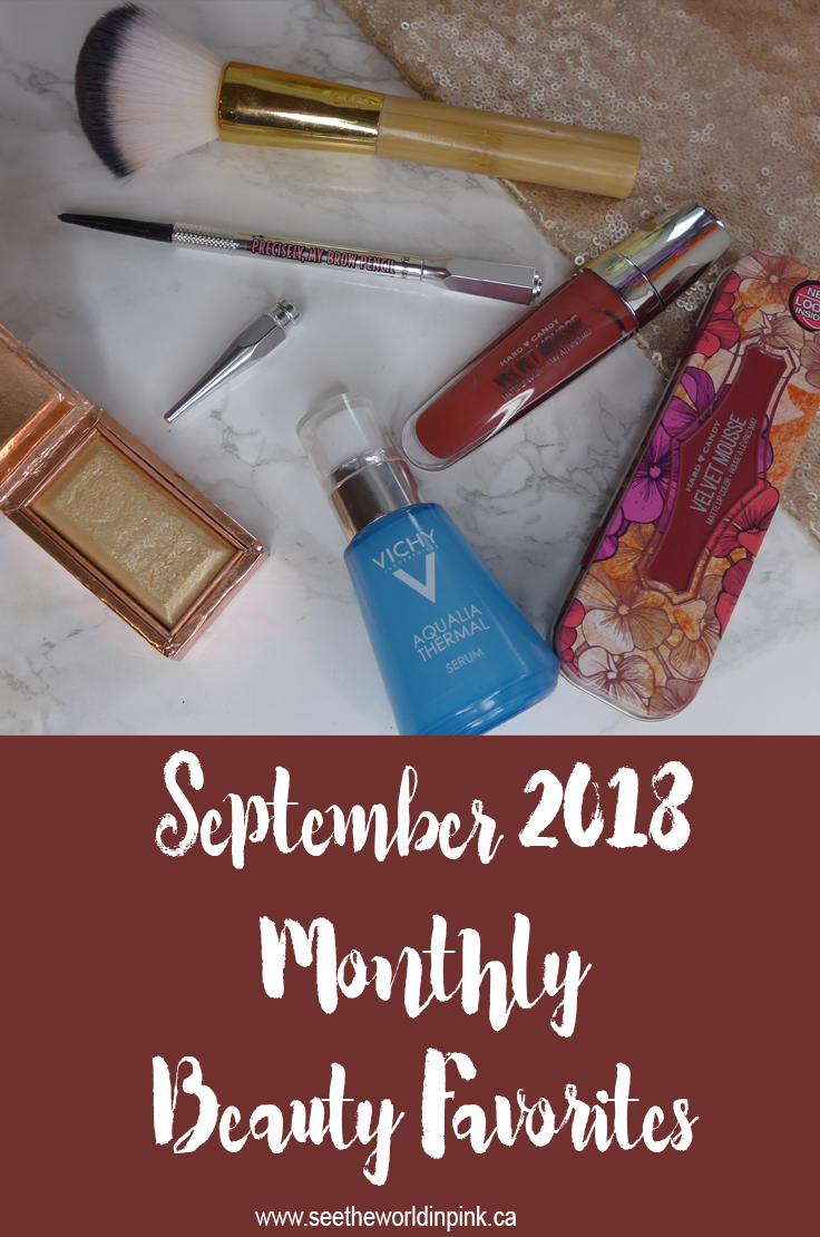 September 2018 - Monthly Favorites!
