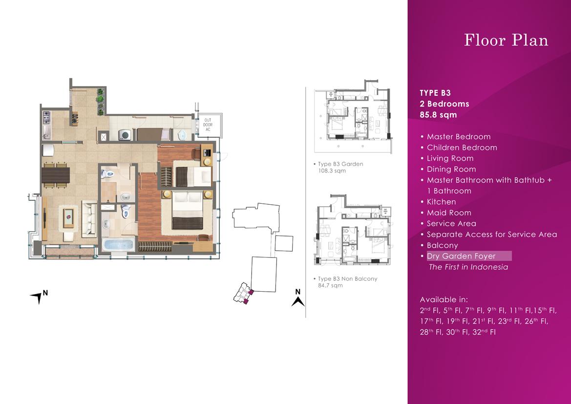 Gallery West Apartment Floor Plan