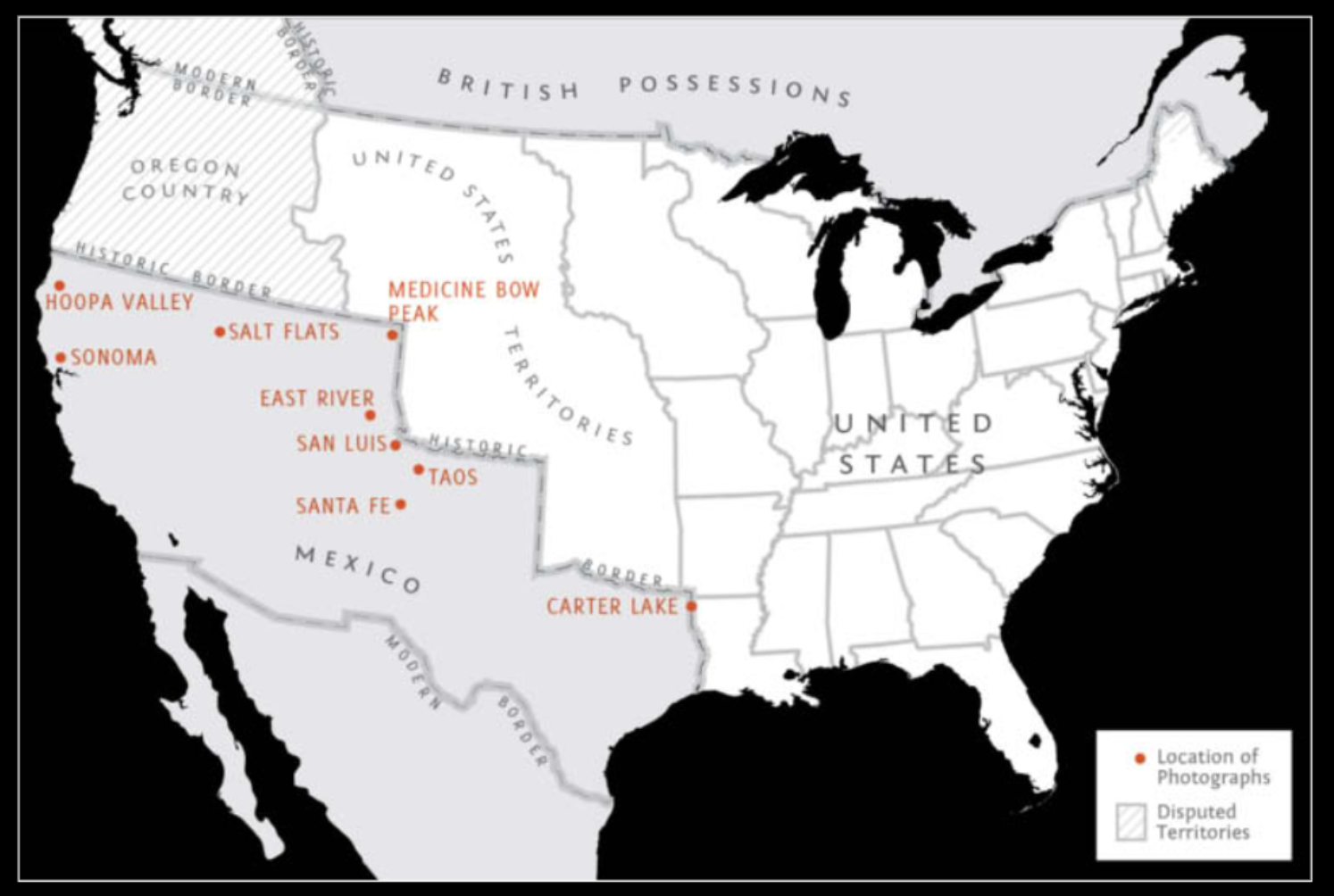 we often forget that the boundary between the united states and mexico was not always where it is today it used to be seven hundred miles farther north
