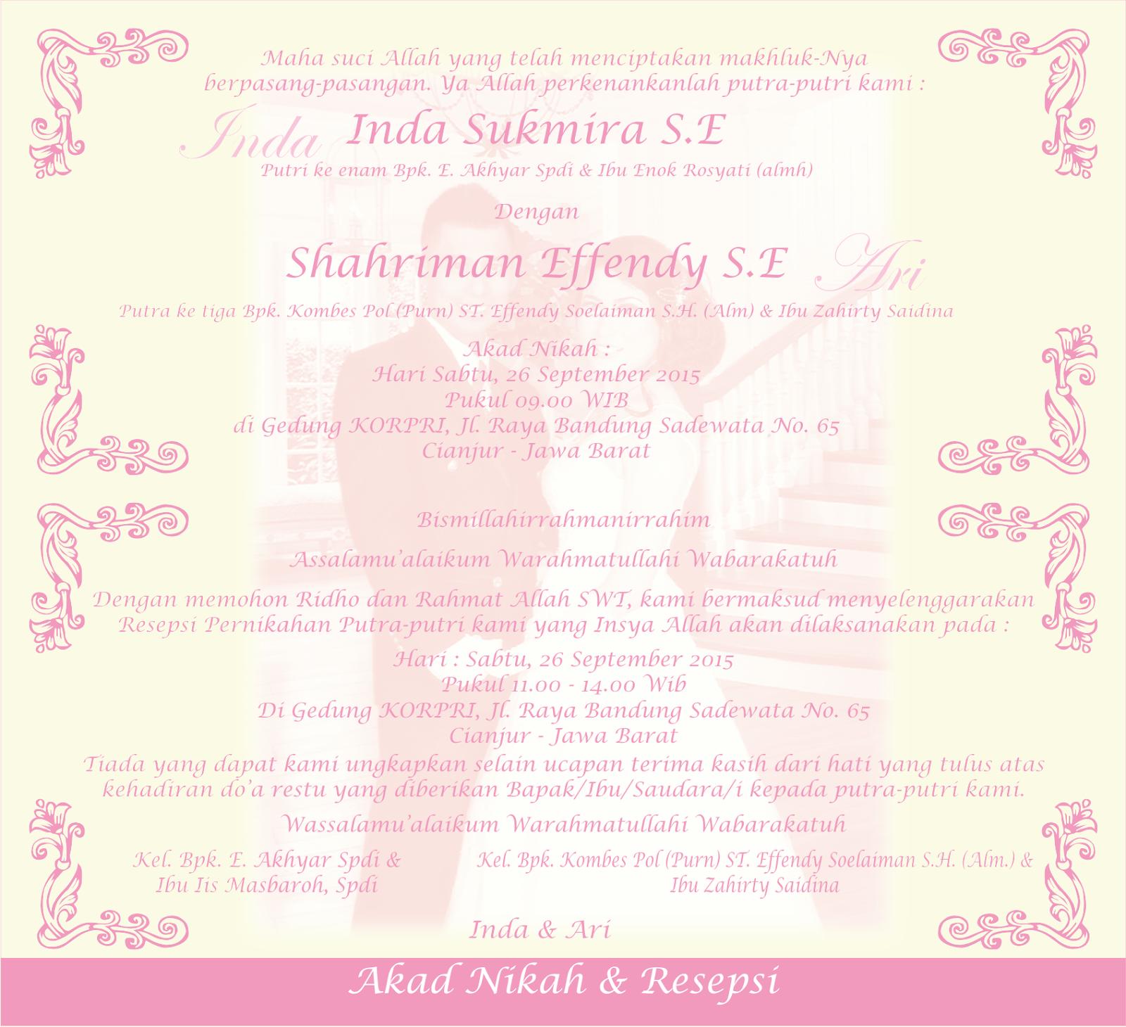 Desain Undangan Pernikahan Eklusif Model Hard Cover