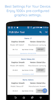 PUB Gfx+ Tool:#1 GFX Tool supports 0.7.0 & 0.9.5 v0.16.5  APK is Here!