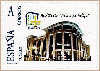 sello, personalizado, tu sello, auditorio, Oviedo