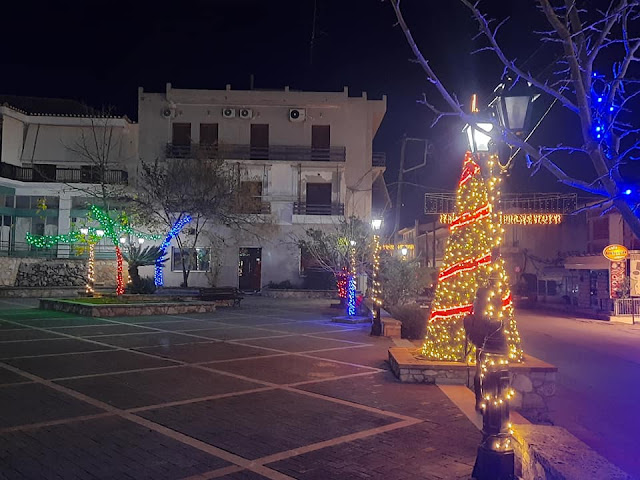 Τα γιορτινά του έβαλε ο Δήμος Επιδαύρου