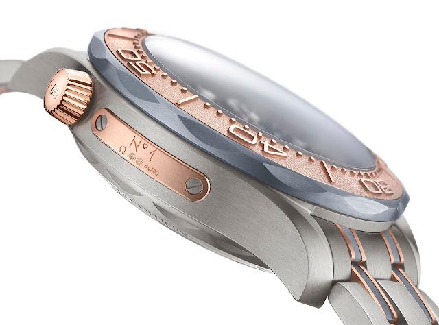 Omega Seamaster Diver 300M Chronograph Titanium, Tantalum and Sedna Gold