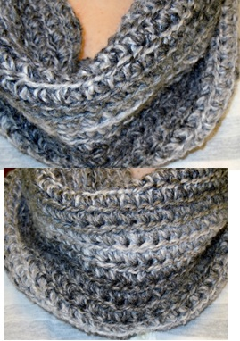 Free Easy To Crochet Infinity Scarf Pattern