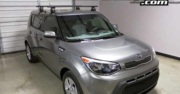 Rack Outfitters New Kia Soul Thule Rapid Traverse Black