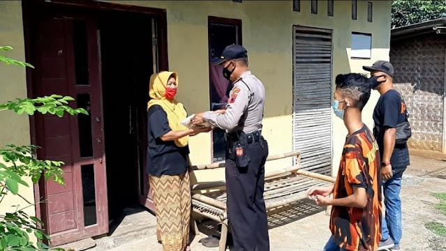 Polsek Kemangkon Gandeng Pemuda Pancasila Menyalurkan Bantuan