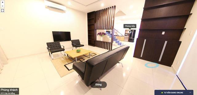 Mô hình xem căn hộ mẫu theo mô hình 360 độ