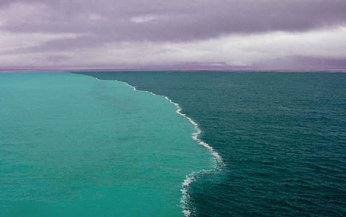 भारत मे भी हैं दो जगह जहां आपस मे नहीं मिलता नदियों का पानी Gulf of Alaska
