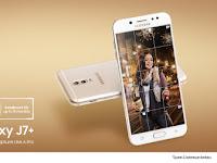 Pre-order Galaxy J7Plus Berhadiah Samsung Bottle Speaker dan Cashback
