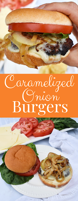 Easy Caramelized Onion Burgers