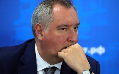 Deputy Prime Minister Dmitry Rogozion prior to the meeting of the bureau of the Russian Engineering Union and the League for Assisting Defense Enterprises of Russia.