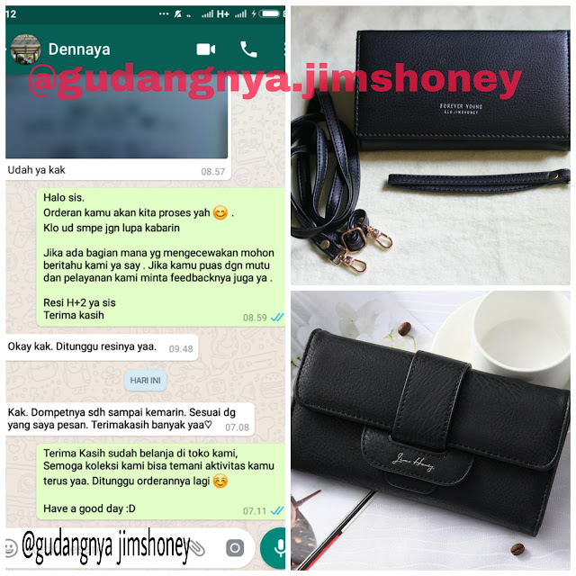 Testimoni Dompet Jimshoney Chelsea Wallet
