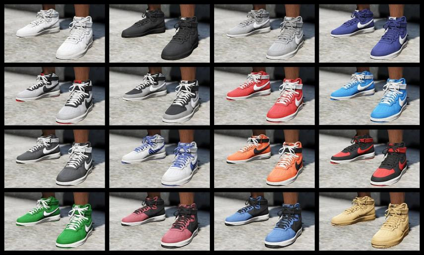 Collection of Nike / Air Jordan shoes with dozens of models