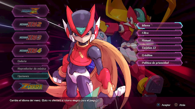 analisis mega man zero collection para ps4
