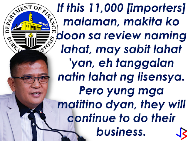 """With the growing number of illegal acts taking advantage of the privilege given to the OFWs balikbayan boxes apprehended by the Bureau of Customs, the bureau has to do something to prevent these people to continue exploiting balikbayan boxes for the benefit of their illegal operations.  Bureau of Customs Commissioner Nicanor Faeldon says the agency's working on a system to prevent OFW names from being hacked and used without their knowledge--and Balikbayan Boxes from being used to smuggle contrabands. In an interview with Bloomberg Philippines, Commissioner Faeldon discussed the measures they are taking  to keep the balikbayan boxes and the OFWs protected.  The balikbayan box privilege given to the OFWs under the new Customs and Modernization and Tariff Act are as follows:   Started last Christmas (2016), they can send balikbayan boxes home tax-free for up to three (3) times a year.  The total value of all three balikbayan boxes should not be more than ₱150,000 and the number of items in the packages should just be suited for personal use and not in commercial quantities.  The Bureau of Customs (BOC) clarifies that this privilege is extended to """"qualified Filipinos living abroad,"""" which are overseas Filipino workers (OFW), students, tourist visa holders, Filipinos with dual citizenship, and Filipinos who have legal overseas residency status .  However, the balikbayan box privileges can be vulnerable for use by illegal smugglers and , thus, the BOC is formulating a measure to  protect the balikbayan boxes and prevent these things from happening.      Here is the conversation with BOC Commissioner Nicanor Faeldon  with Bloomberg Philippines.  """"We are now devising a system that monitors movement of names and addresses.       So we have to really coordinate with the DTI who's really the one regulating these companies, it's not the Bureau of Customs. Their accreditation is with the DTI.    [Bloomberg] But inspections on balikbayan boxes will still be done the same way wi"""