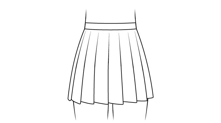 Gambar rok sekolah anime