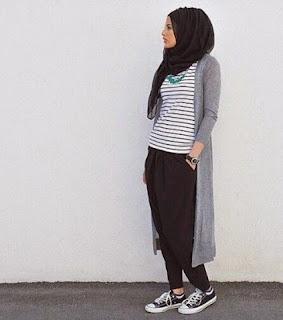 fashion hijab remaja lebaran