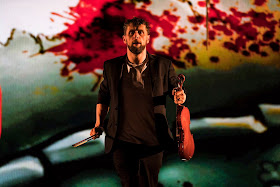 Donnacha Dennehy: The Second Violinist - Aaron Monaghan - Landmark Productions and Wide Open Opera - (Photo Patrick Redmond)