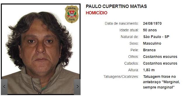 PAULO CUPERTINO MATIAS - Homicídio