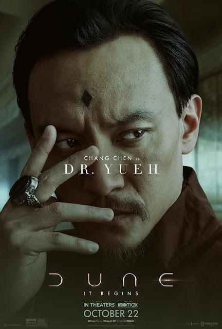 Chang Chen as Dr Yueh