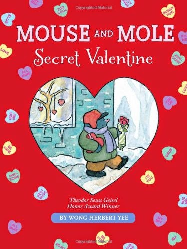 Mouse and Mole: Secret Valentine, part of children's book review list about Valentine's Day