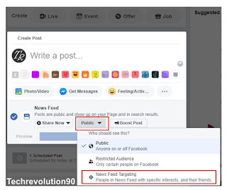 Cara Menggunakan News Feed Targeting Postingan di Facebook Page